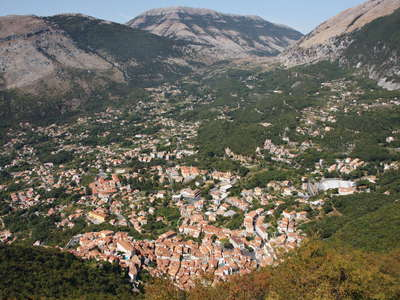 Maratea with Monte Coccovello