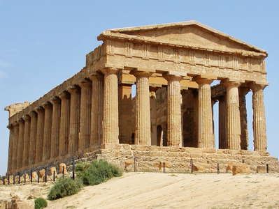 Agrigento - ancient temple