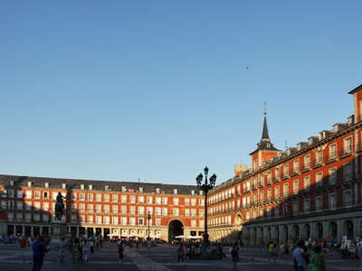 Madrid | Panorama of Plaza Mayor