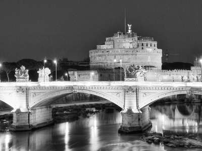 Roma | Tiber and Castel Sant'Angelo