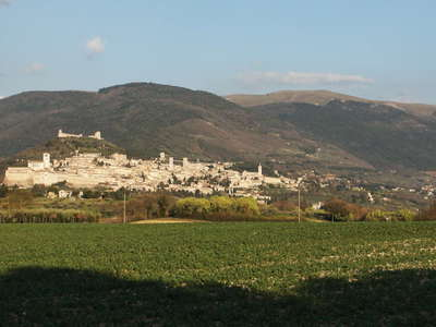 Assisi and Monte Subasio
