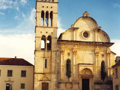 Hvar (Croatia) - Pjaca and Cathedral of St. Stephen