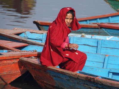 Pokhara  |  Phewa Lake boat captain