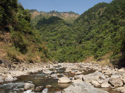 Lesser Himalaya  |  Mountain stream