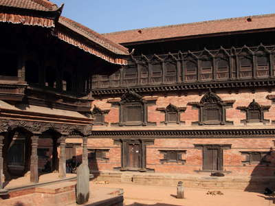 Bhaktapur Durbar Square with Royal Palace
