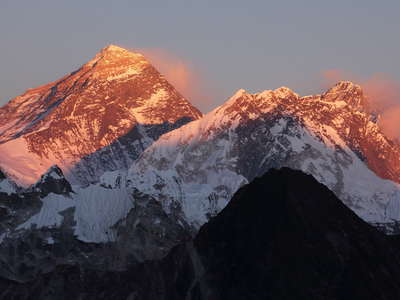 Khumbu Himal  |  Top of the World at sunset