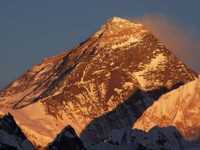 Khumbu Himal  |  Mt. Everest at sunset