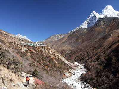 Imja Khola Valley and Ama Dablam