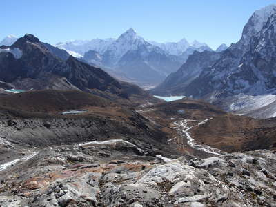 Valley of Dzonglha and Ama Dablam