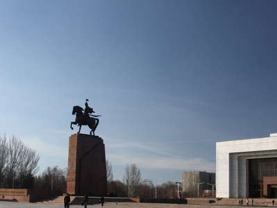 Bishkek  |  Manas Statue and National History Museum