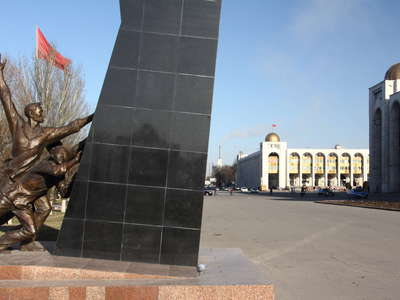 Bishkek  |  Monument and Ala-Too Square