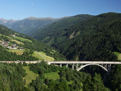 Liesertal  |  Leoben Bridge and Nockberge