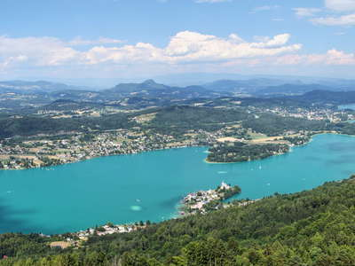 Woerthersee  |  Panoramic view