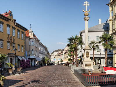Klagenfurt | Alter Platz with Pestsäule