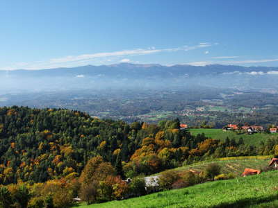 Sausal panorama and Koralpe