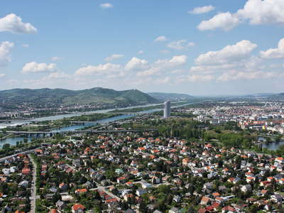 Wien | Floridsdorf and Danube River