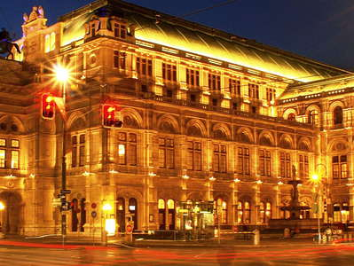 Wien  |  Ringstrasse and Staatsoper