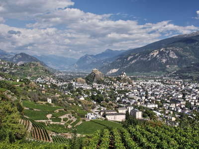 Sion and Rhone Valley