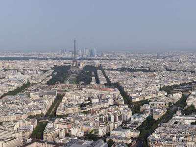 Paris | Panoramic view with Tour Eiffel