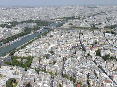 Paris | Panoramic view with Seine