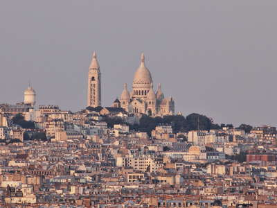Paris  |  Montmartre with Basilique du Sacre Coeur