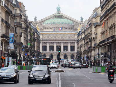 Paris  |  Avenue de l'Opera with Opera Garnier