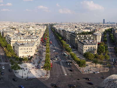 Paris | Place Charles-de-Gaulle panorama