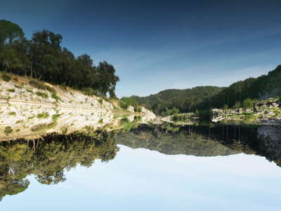 Gardon River  |  Reflections