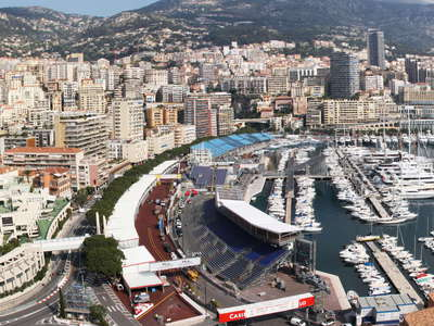 Monaco with Port Hercule
