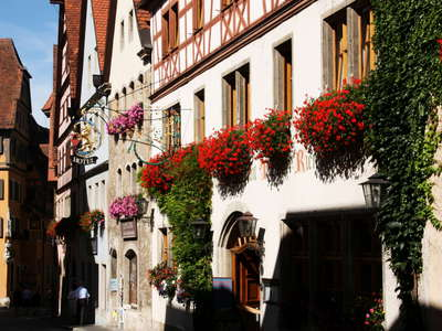 Rothenburg ob der Tauber  |  Historic centre