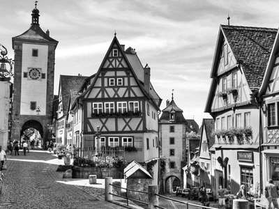 Rothenburg ob der Tauber  |  Town gates