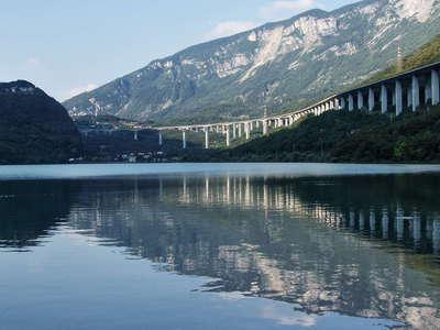 Lago Morto and Viadotto Fadalto