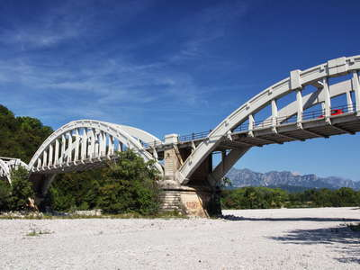 Fiume Meduna - road bridge