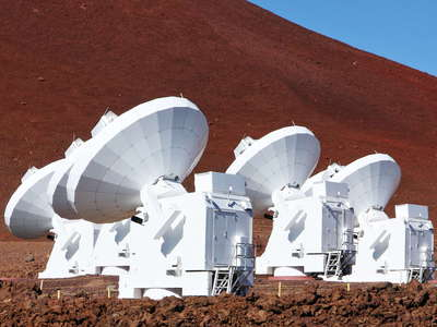 Mauna Kea  |  Submillimeter Array