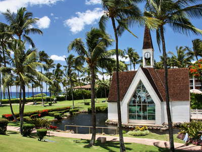 Wailea  |  Wedding chapel