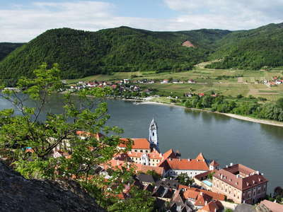 Duernstein and Danube