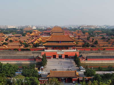 Beijing  |  Panorama of Forbidden City