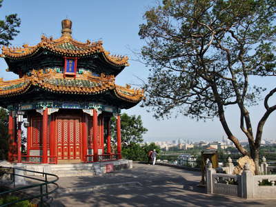 Beijing  |  Pavillon at Jingshan Park