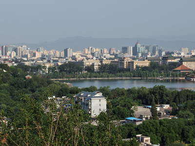 Beijing  |  City panorama with Beihai Park