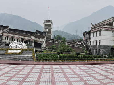 Yingxiu  |  Earthquake relics
