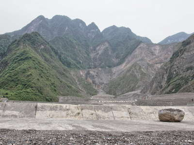 Qingping  |  Wenjia Gully debris flow mitigation