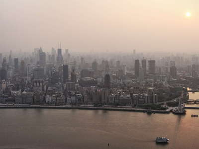 Shanghai  |  Huangpu River and the Bund
