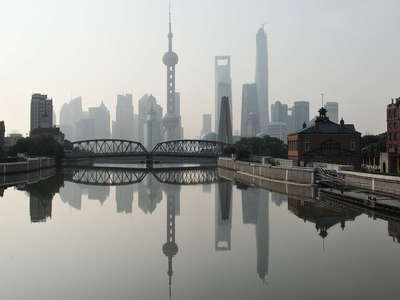 Shanghai  |  Suzhou Creek and Pudong
