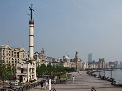 Shanghai  |  Bund with Signal Tower