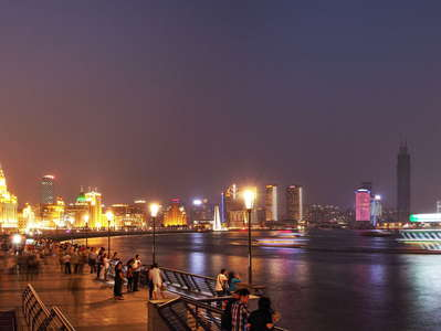 Shanghai  |  Bund and Huangpu River