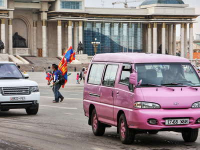 Ulaan Baatar  |  Colourful Mongolia