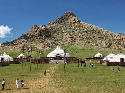 13th Century National Park  |  Touristic ger camp