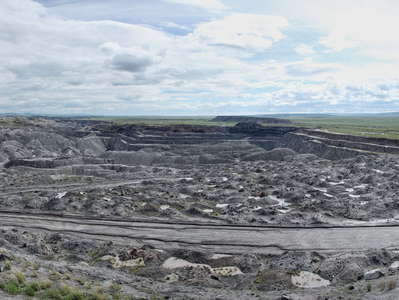 Baganuur  |  Panorama of brown coal mine