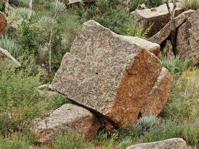 Baga Gazarin Chuluu  |  Weathered granite