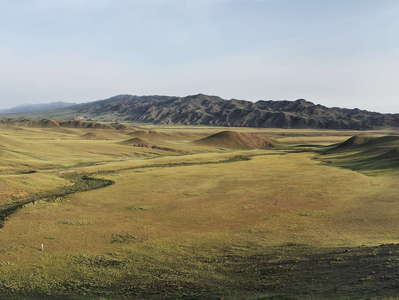 Gurvan Saykhan Mountains  |  Panorama